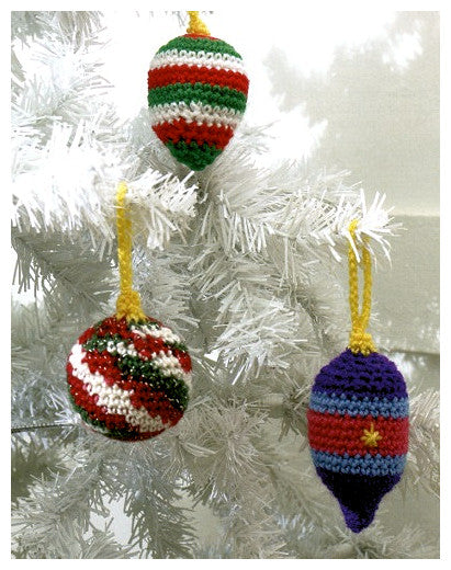 Christmas Crochet Book 1 - Bauble Ornaments