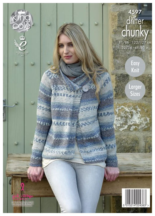 Drifter Chunky Leaflet 4597 - Jacket with Long Sleeves