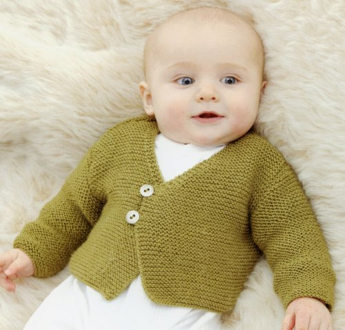 Sublime Book 677 - Little Mister Bean Surprise Cardie