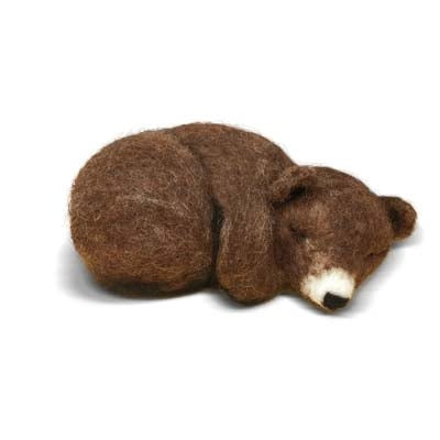 CKC-NF-125 Sleepy Brown Bear