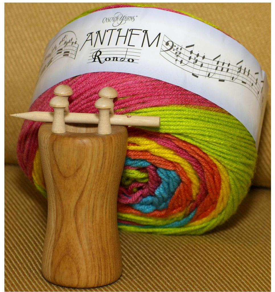 Knitting Spool and Anthem Rondo