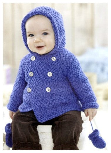 Sirdar Book 507 Snuggly Delights - Design 4706 - Duffle Coat & Mittens
