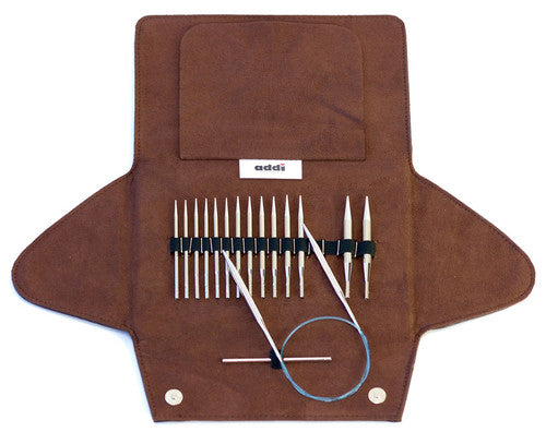 Addi Click Rocket Short Tip Interchangeable Circular Knitting Needle Set