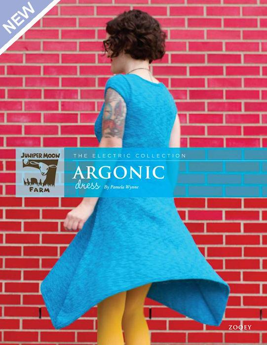 Argonic Dress by Pamela Wynne for Juniper Moon Farm