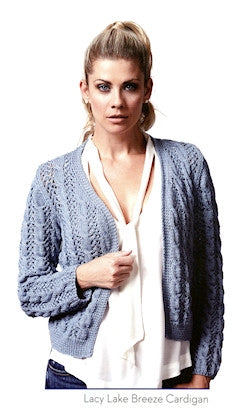 Utterly Blissful - Lacy Lake Breeze Cardigan - long sleeves
