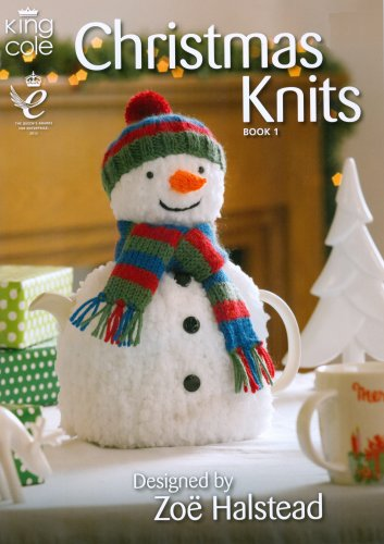 Christmas Knits Book 1 - Snowman Tea Cozy