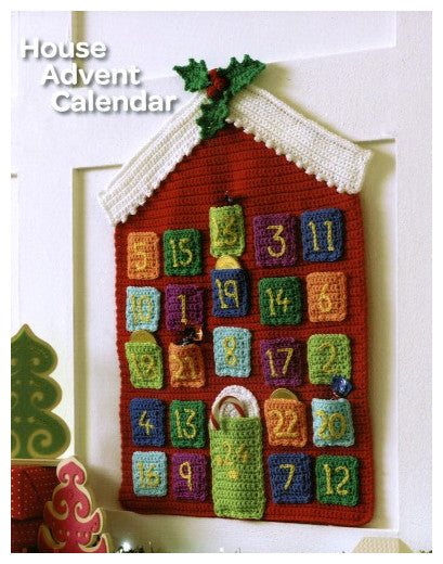 Christmas Crochet Book 1 - Advent Calendar