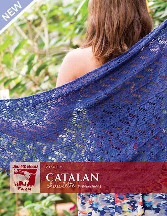 Catalan Shawlette by Tabetha Hedrick for Juniper Moon Farm