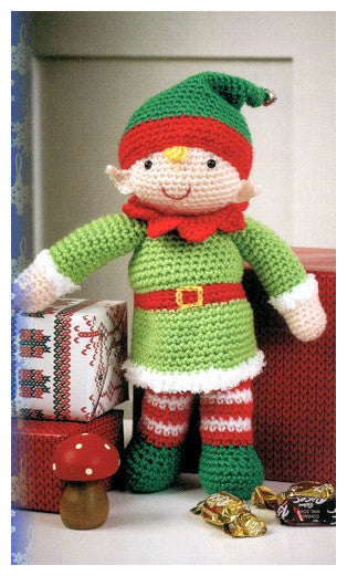 Christmas Crochet Book 1 - Elf Toy