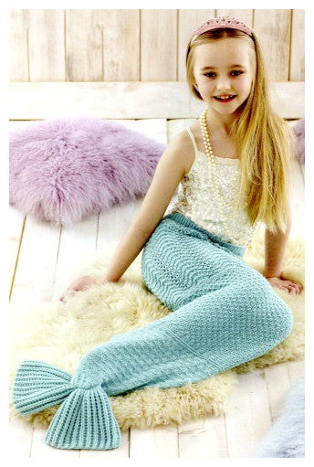 Sirdar Book 507 Snuggly Delights - Design 4708 - Mermaid Tail - Child