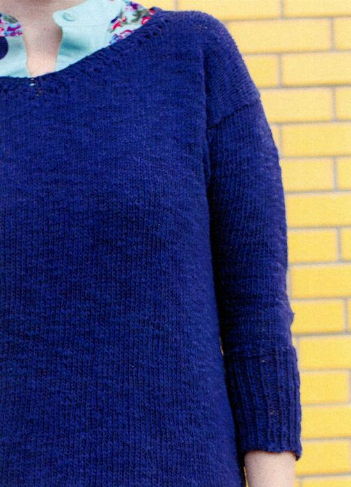 Circadian Pullover by Pamela Wynne for Juniper Moon Farm