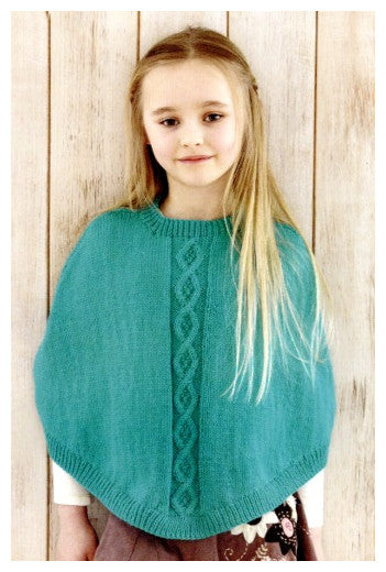 Sirdar Book 507 Snuggly Delights - Design 4702 - Poncho with Round Neck