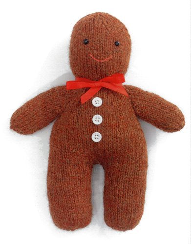 Christmas Knits 2 - Gingerbread Man Toy