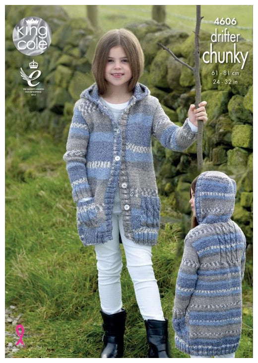 Drifter Chunky Leaflet 4606 - Coat with Hood