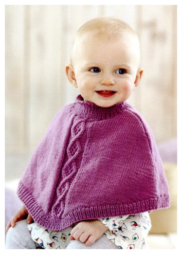 Sirdar Book 507 Snuggly Delights - Design 4702 - Poncho with Stand Up Neck