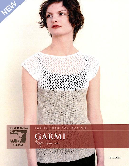 Garmi Top Pattern Leaflet by Mari Chiba for Juniper Moon Farm
