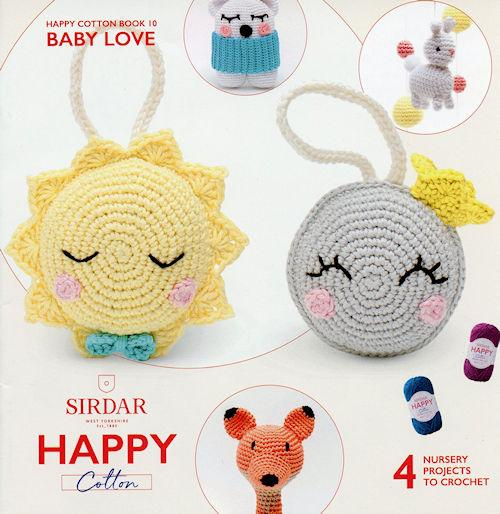 Sirdar Happy Cotton Book 10 -- Baby Love