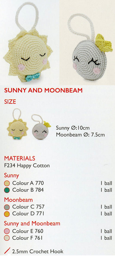 Sirdar Happy Cotton Book 10 -- Sunny and Moonbeam