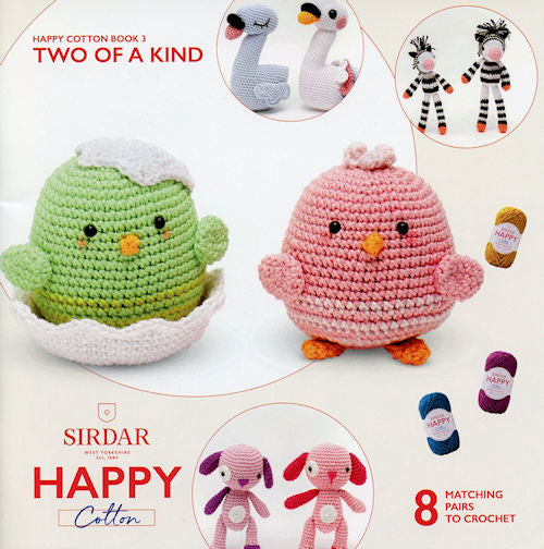 Sirdar Happy Cotton Book 3 -- Two of a Kind