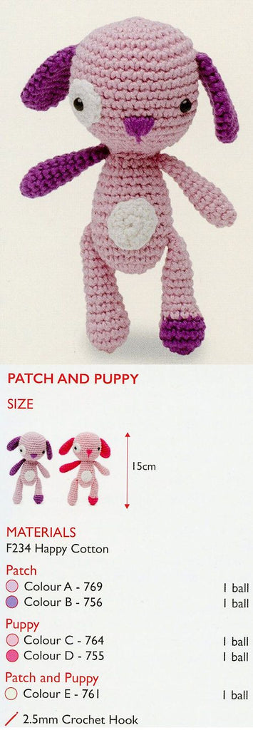 Sirdar Happy Cotton Book 3 - Patch & Puppy