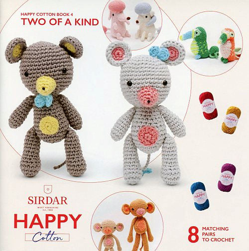 Sirdar Happy Cotton Book 4 -- Two of a Kind