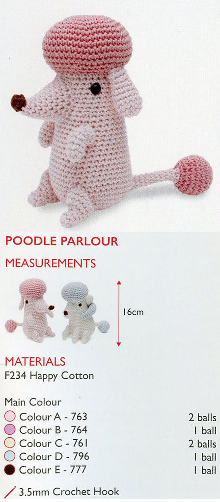 Sirdar Happy Cotton Book 4 - Poodle Parlour