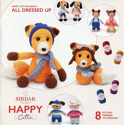 Sirdar Happy Cotton Book 5 -- All Dressed Up