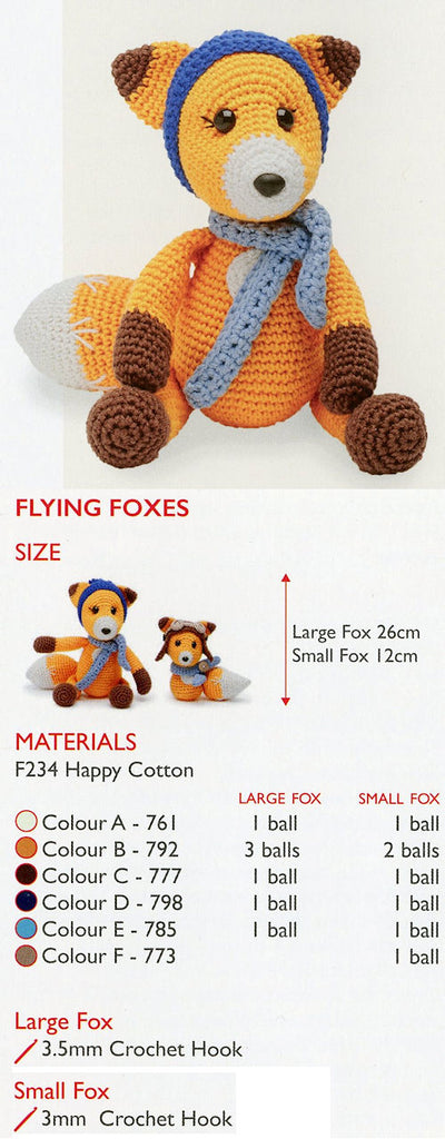 Sirdar Happy Cotton Book 5 - Flying Foxes
