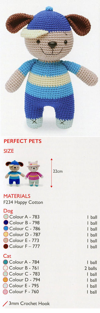 Sirdar Happy Cotton Book 5 - Perfect Pets