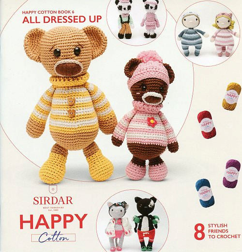 Sirdar Happy Cotton Book 6 -- All Dressed Up