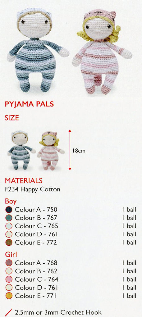 Sirdar Happy Cotton Book 6 -- Pyjama Pals