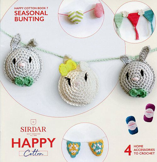 Sirdar Happy Cotton Book 7 -- Seasonal Bunting