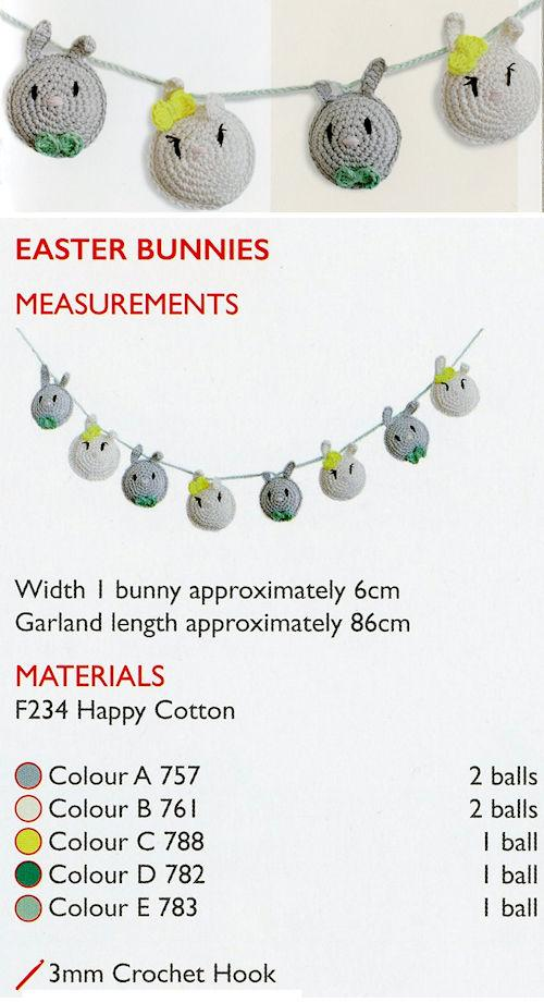 Sirdar Happy Cotton Book 7 - Easter Bunnies
