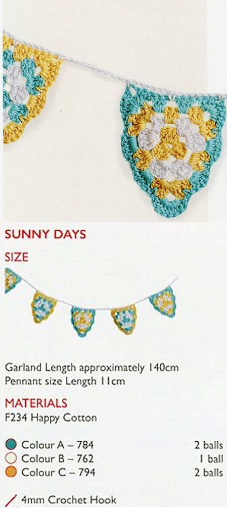 Sirdar Hapy Cotton Book 7 - Sunny Days