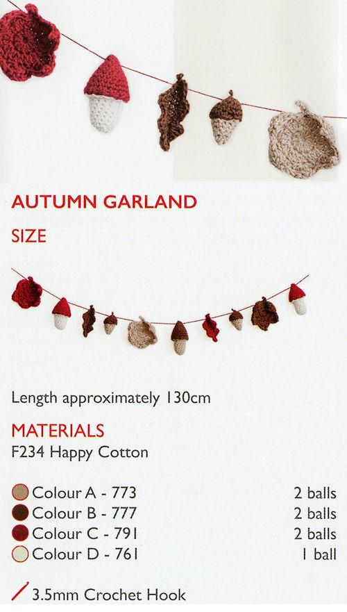 Sirdar Happy Cotton Book 8 -- Autumn Harvest