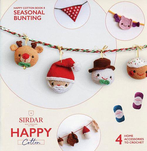 Sirdar Happy Cotton Book 8 -- Seasonal Bunting