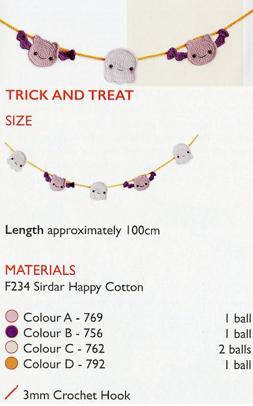 Sirdar Happy Cotton Book 8 -- Trick & Treat