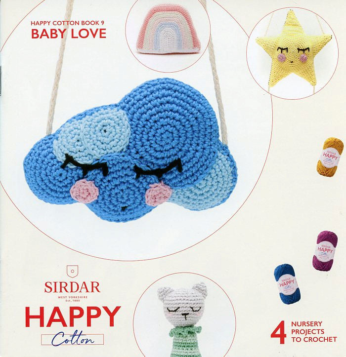 Sirdar Happy Cotton Book 9 -- Baby Love