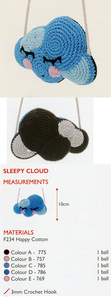Sirdar Happy Cotton Book 9 -- Sleepy Cloud