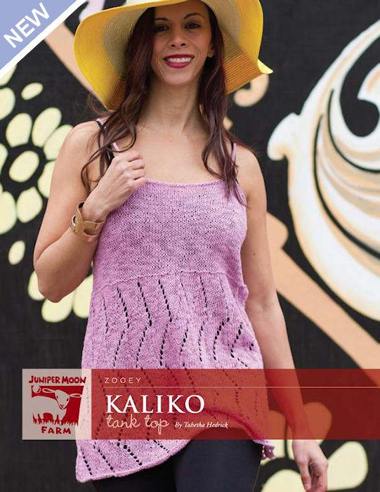 Kaliko Tank Top by Tabetha Hedrick for Juniper Moon Farm
