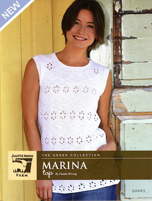 Marina Top Pattern Leaflet by Claudia Wersing for Juniper Moon Farm