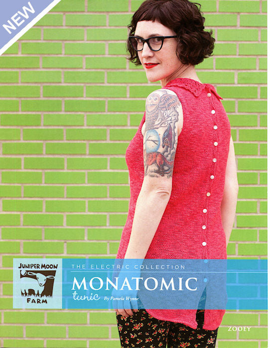 Monatomic Tunic by Pamela Wynne for Juniper Moon Farm