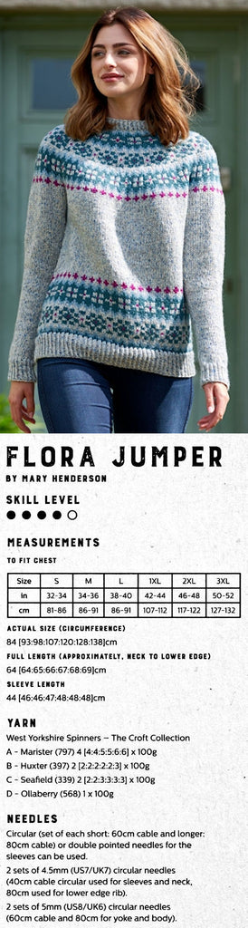 The Croft:  Shetland Country -- Flora Jumper