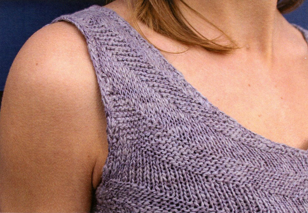 Sommer Sleeveless Top Pattern Leaflet by Mari Chiba for Juniper Moon Farm