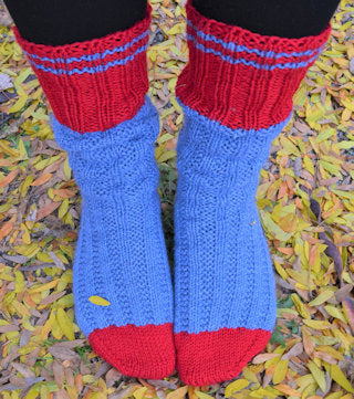 Toe Up Socks with Amanda (image courtesy of Amanda)