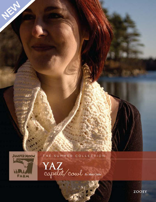 Yaz Capelet/Cowl by Mari Chiba for Juniper Moon Farm