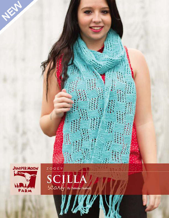 Scilla Scarf by Tabetha Hedrick for Juniper Moon Farm