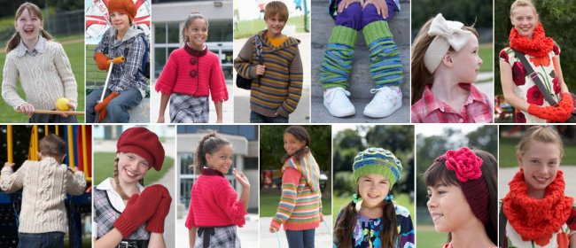 Patons Book 500882 - Cool for School - Rest of Patterns