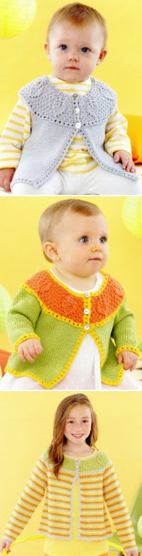 Sirdar Book 495 Playful Little Tots - Design 4624 Images