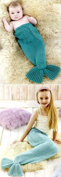 Sirdar Book 507 Snuggly Delights - Mermaid Tail Design 4708